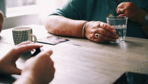 families in seniors care